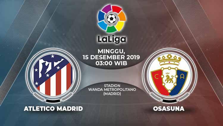 Xem lại Atletico Madrid vs Osasuna, La Liga – 15/12/2019