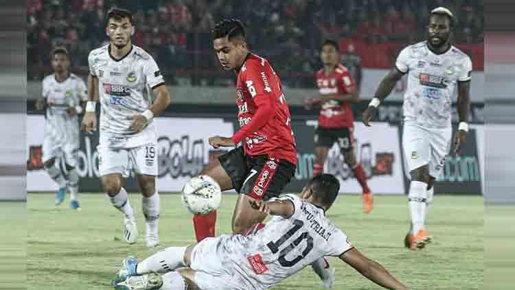 Pelatih Tira Persikabo, Igor Nikolayevich Kriushenko mengungkapkan kegembiraan usai menumbangkan Bali United 1-0 di Stadion Kapten I Wayan Dipta, Gianyar, Kamis (12/12/19). Copyright: © @baliunitedfc