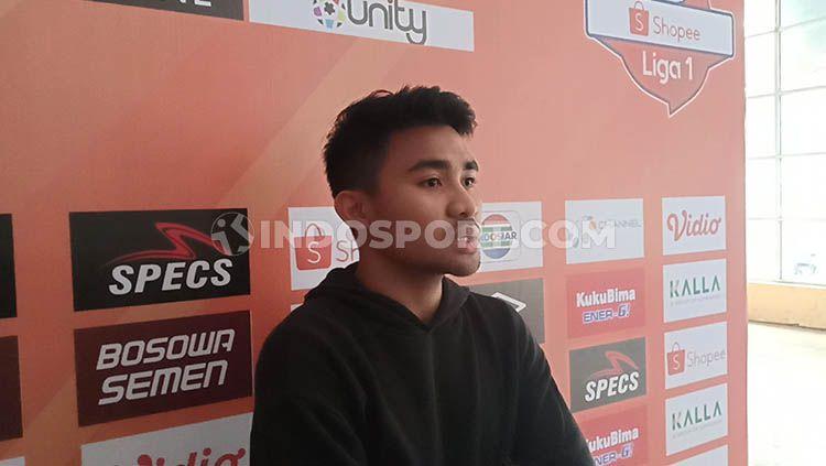 PSM Makassar mendapat tenaga baru karena kembali diperkuat bek tangguhnya, Asnawi Mangkualam, yang siap dimainkan pada dua laga sisa di Shopee Liga 1 2019. Copyright: © Adriyan Adirizky/INDOSPORT