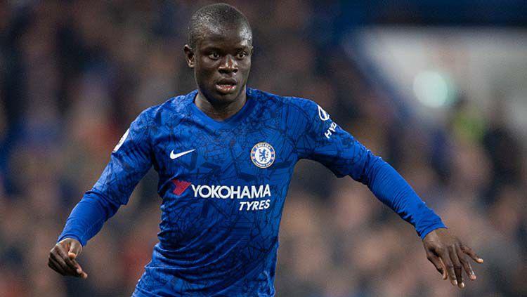 N'Golo Kante, pemain bintang klub Liga Inggris, Chelsea. Copyright: © Visionhaus/GettyImages