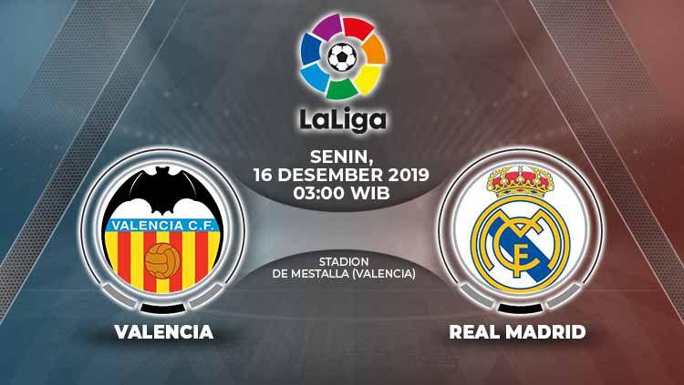 Xem lại Valencia vs Real Madrid, La Liga – 16/12/2019