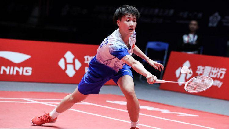 Berhasil merangsak ke partai final BWF World Tour Finals 2019, pebulutangkis China, Chen Yufei sukses cetak rekor mengerikan. Copyright: © Shi Tang/Getty Images