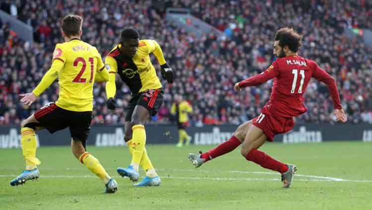 Rekap hasil pertandingan Liga Inggris pekan ke-17 memperlihatkan keberjayaan Liverpool, dan terkaparnya Chelsea. Copyright: © twitter/@premierleague