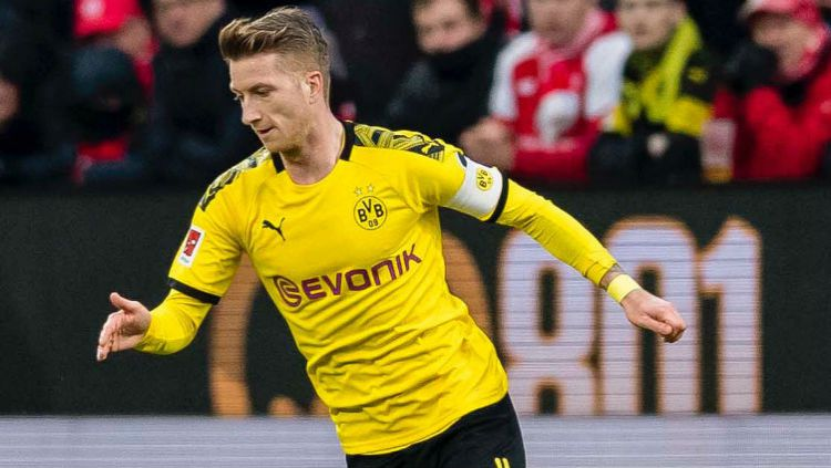 Marco Reus mengomentari kedatangan Erling Braut Haaland ke klub Bundesliga Jerman, Borussia Dortmund. Copyright: © Twitter @BVB