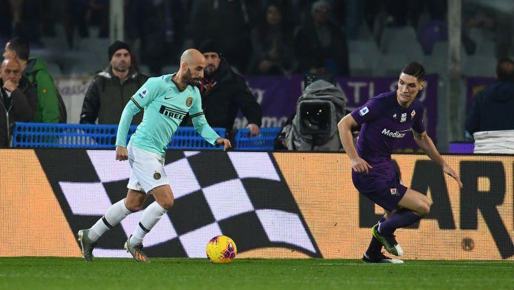 Hasil Pertandingan Serie A Italia Fiorentina vs Inter Milan. Copyright: © https://twitter.com/Inter