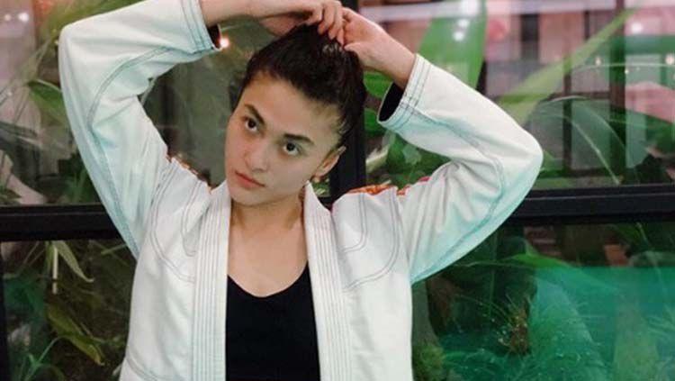 Final Phillipe aktris sekaligus atlet jiu jitsu Copyright: © Instagram @lafinaa
