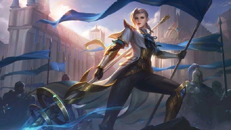 Hero Mobile Legends, Silvanna, menjadi salah satu counter Lancelot. Copyright: © Mobile Legends