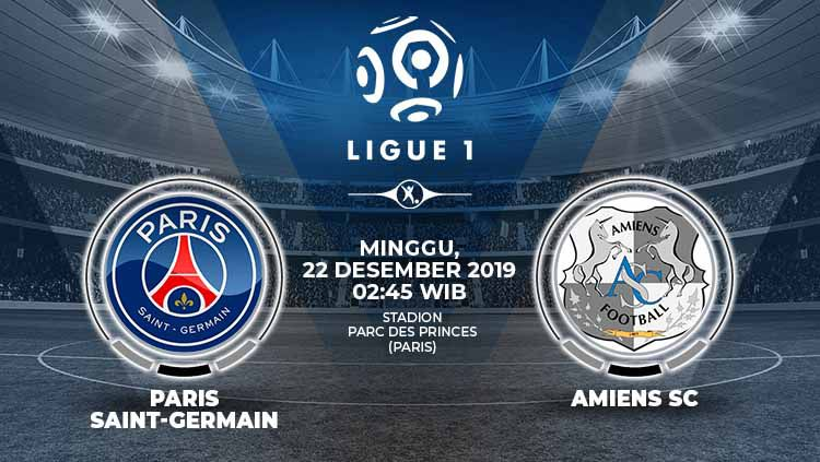 Xem lại PSG vs Amiens, Ligue 1 – 22/12/2019