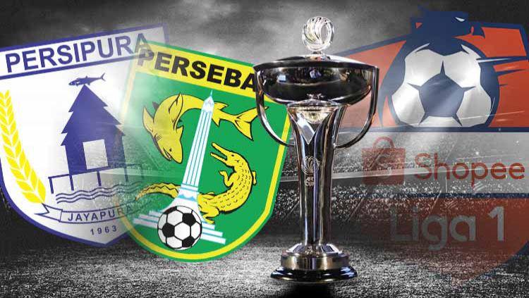 Posisi runner-up kompetisi Liga 1 2019 nyatanya masih diperebutkan oleh dua tim legendaris Indonesia, yakni Persipura Jayapura dan Persebaya Surabaya. Copyright: © Grafis: Ynt/Indosport.com