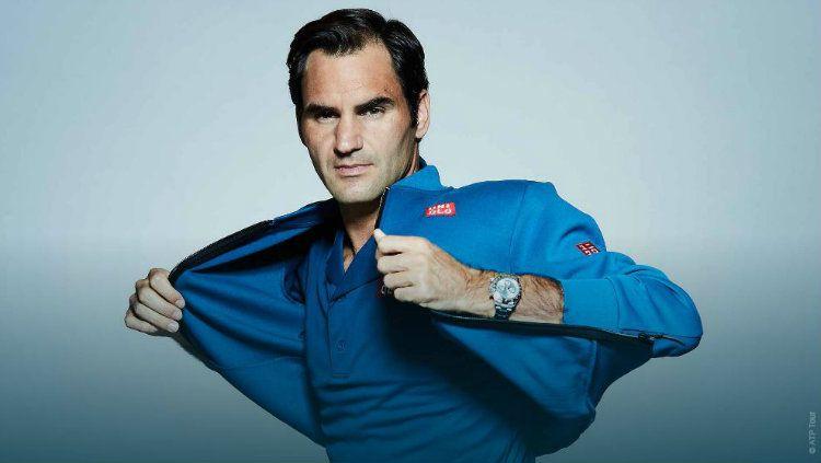 Roger Federer dinobatkan sebagai pria termodis dekade ini versi majalah GQ. Copyright: © ATP Tour