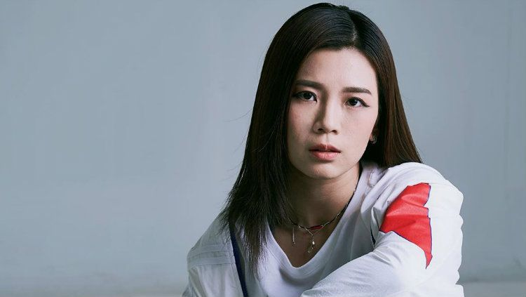 Tak mau kalah dengan pasangannya Chan Peng Soon, Goh Liu Ying juga fasih bergaya di depan kamera. Copyright: © Instagram/Goh Liu Ying