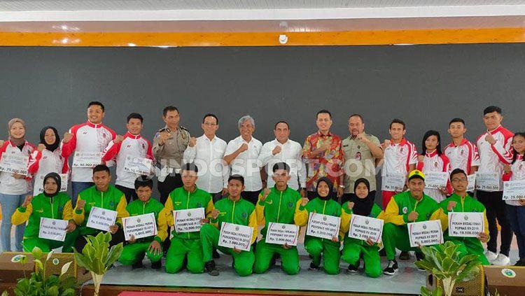 Bintang Timnas Indonesia U-23, Egy Maulana Vikri juga nampak masuk dalam daftar atlet yang diberikan bonus oleh Edy Rahmayadi. Copyright: © Aldi Aulia Anwar/INDOSPORT