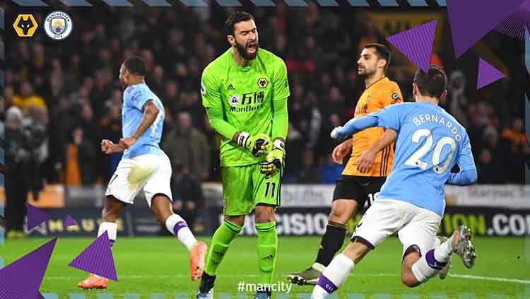 Wolverhampton vs Man City. Copyright: © Twitter.com/@ManCity