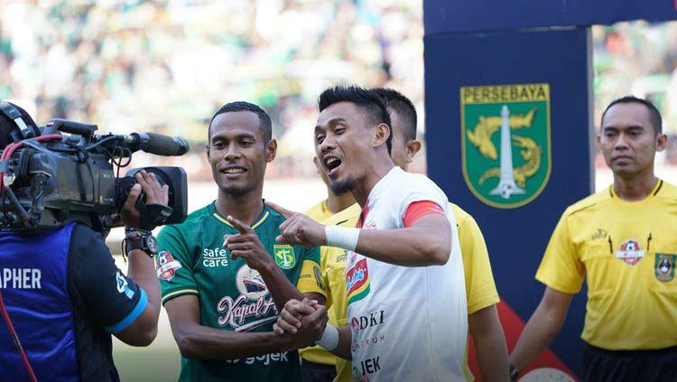 Ada 3 klub Liga 1 yang bisa saja menggaet bek veteran Maman Abdurrahman usai dilepas Persija Jakarta jelang musim 2020. Copyright: © persija.id