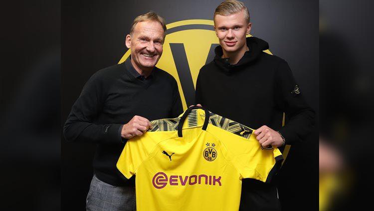 Erling Braut Haaland resmi bergabung ke Borussia Dortmund. Copyright: © Instagram.com/bvb09