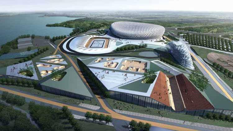 Pemerintah Provinsi Sumatera Utara akan membangun sport center di Desa Sena, Kabupaten Deliserdang dengan luas lahan mencapai 300 hektare. Copyright: © lenteraswaralampung.com