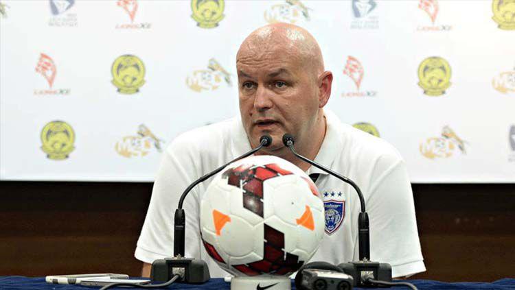 Bojan Hodak saat menjadi pelatih Johor Darul Takzim. Copyright: © Semuanya Bola