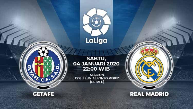 Xem lại Getafe vs Real Madrid, La Liga – 04/01/2020