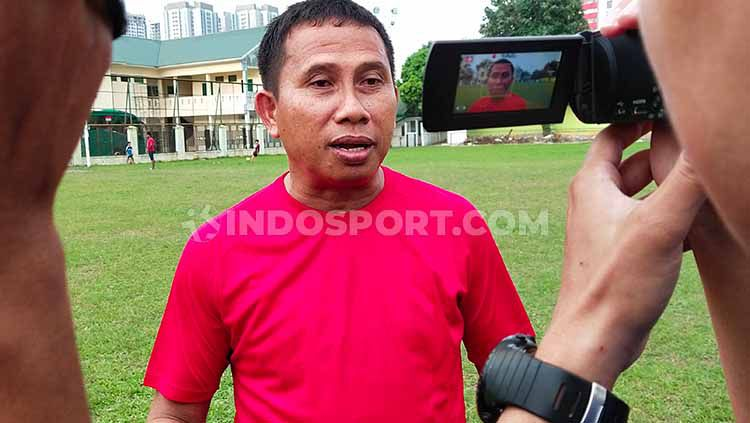 Klub sepak bola Liga 2 2020, PSMS Medan, kembali melakukan pencoretan pemain-pemain yang menjalani trial. Copyright: © Aldi Aulia Anwar/INDOSPORT