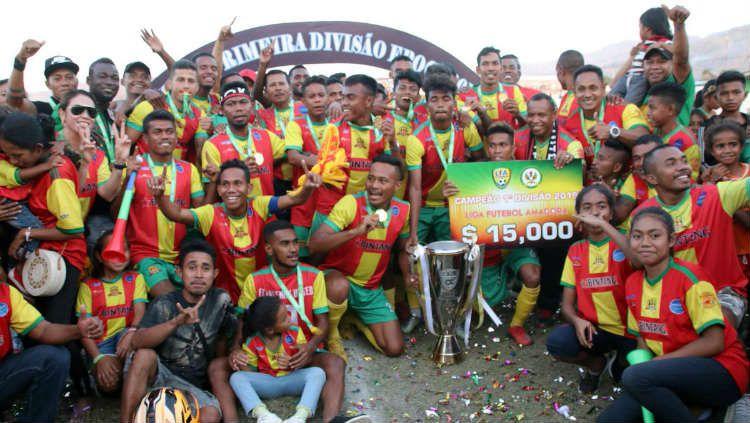 Lalenok United, juara Liga Timor Leste musim lalu dan dilatih orang Indonesia Copyright: © twitter.com/AFCCup