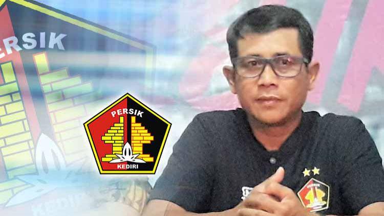 Joko Susilo, pelatih klub Liga 1, Persik Kediri. Copyright: © Grafis:Ynt/Indosport.com