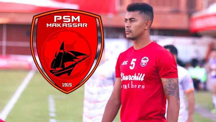 Video perkenalan dari pemain sepak bola baru PSM Makassar, Hussein El Dor, di bursa transfer Liga 1 2020, ternyata disiarkan oleh stasiun televisi Lebanon. Copyright: © Twitter