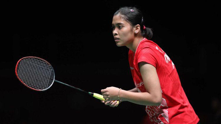 Pebulutangkis tunggal putri Gregoria Mariska Tunjung beberkan targetnya di gelaran Olimpiade Tokyo 2020 yang digelar pada tahun 2021 mendatang. Copyright: © Badminton Indonesia