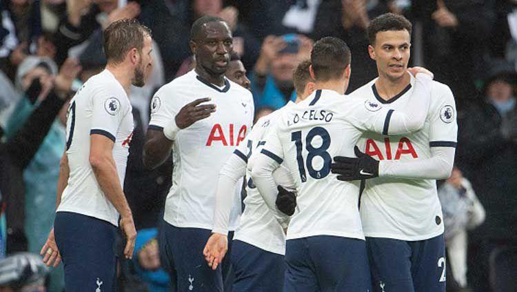 Tottenham Hotspur berhasil memenangkan pertandingan ulangan babak ketiga Piala FA melawan Middlesbrough, Rabu (15/01/20) dini hari WIB. Copyright: © Visionhaus/GettyImages