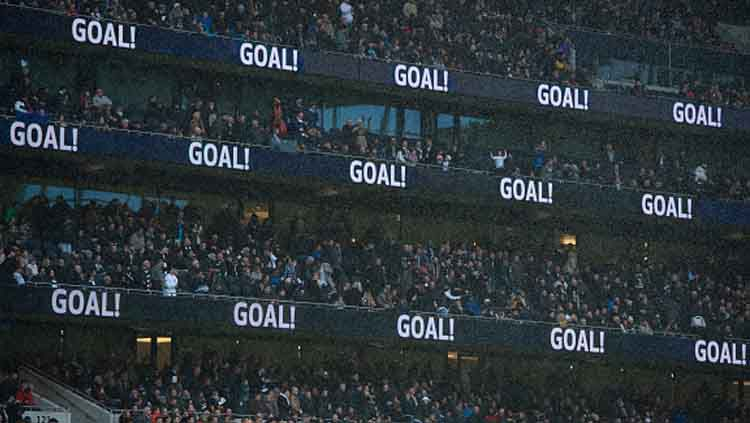 Para pendukung klub Liga Inggris, Tottenham di Stadion Tottenham Hotspur Copyright: © Visionhaus/GettyImages