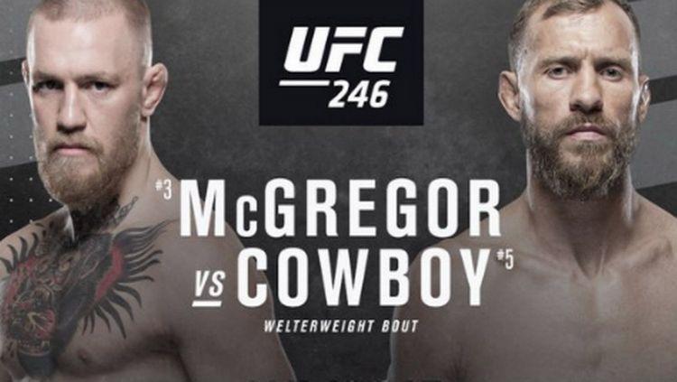 Adu statistik antara Conor McGregor vs Donald Cerrone sepertinya patut disimak sebelum keduanya bertarung dalam laga kelas welterweight UFC, Minggu (19/01/20). Copyright: © https://www.irishmirror.ie/
