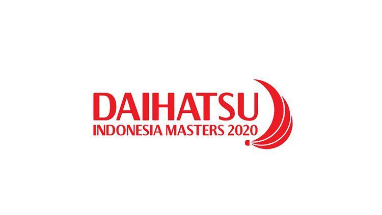 Logo Indonesia Masters 2020. Copyright: © BWF