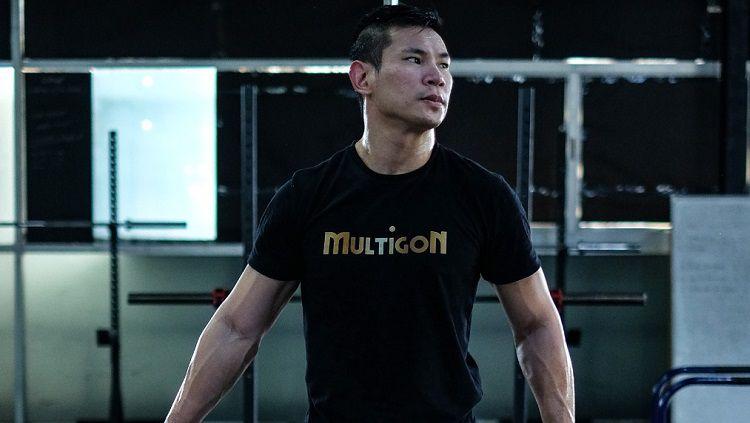 Memasuki 2020, petarung Mixed Martial Art (MMA) One Pride yang berlaga di kelas Welter, Rudy 'Ahong' Gunawan, mendapatkan suntikan semangat baru. Copyright: © Multigon