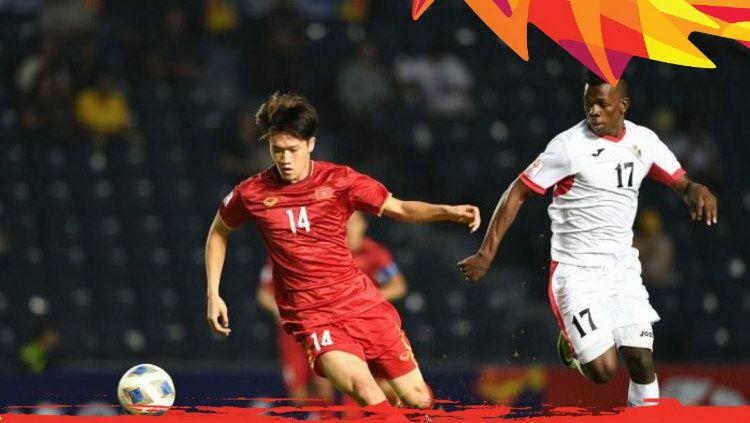 Berikut hasil pertandingan babak Penyisihan Grup Piala Asia U-23 2020 pada Senin (13/1/20), di mana Vietnam sukses meraih poin lagi dan berpeluang lolos. Copyright: © twitter.com/theafcdotcom