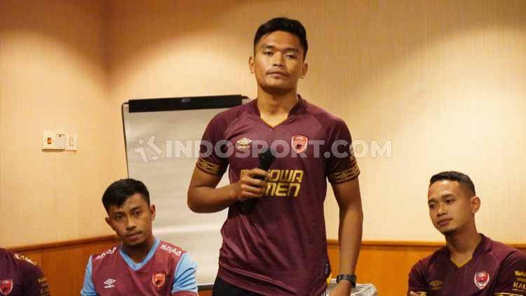 Gelandang anyar klub Liga 1 PSM Makassar, Ahmad Agung Setia Budi. Copyright: © Adriyan Adirizky/INDOSPORT