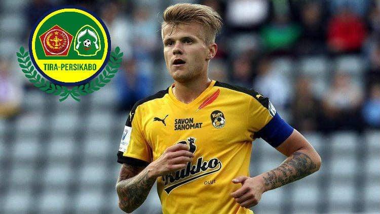 Petteri Pennanen resmi ke Tira Persikabo pada Liga 1 2020. Copyright: © Alchetron