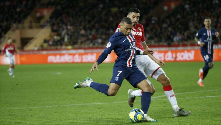 Kylian Mbappe menyatakan jika dirinya ingin mewujudkan salah satu mimpi terbesarnya saat ini, yaitu menjuarai Liga Champions bersama Paris Saint-Germain. Copyright: © Twitter @PSG_English