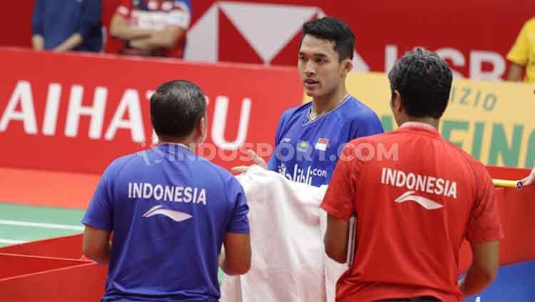 Marak virus corona, Jonatan Christie dkk tetap ikut Badminton Asia Team Championships 2020 di Filipina, 6-11 Februari 2020. Copyright: © Roihan Susilo Utomo/INDOSPORT