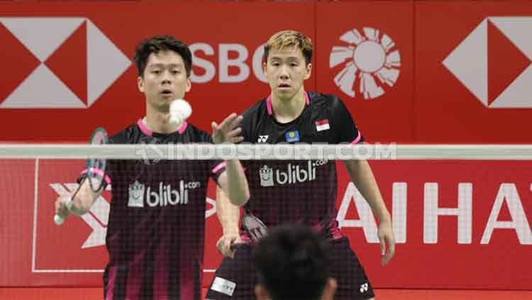 Peluang tim putra Indonesia di ajang Badminton Asia Team Championships 2020 tampak dihiasi dengan dua pilihan, yakni jangan lengah atau kalah. Copyright: © Roihan Susilo Utomo/INDOSPORT