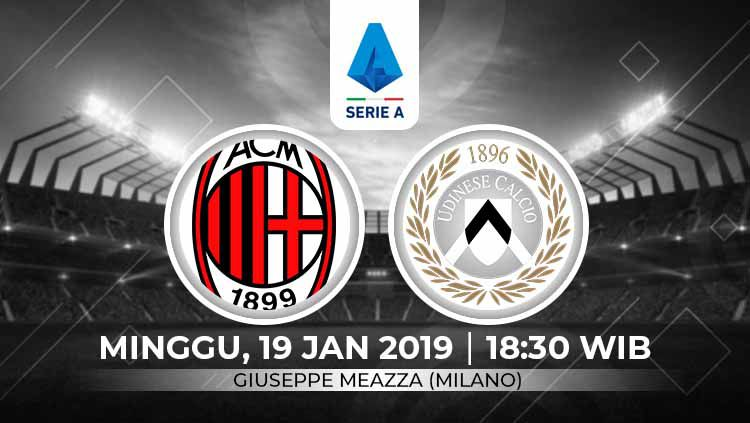 Xem lại AC Milan vs Udinese, Serie A – 20/01/2020