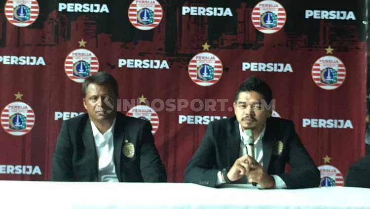 Bambang Pamungkas (Bepe) ditunjuk sebagai manajer Persija Jakarta. Copyright: © Petrus Manus Da'Yerimon/INDOSPORT