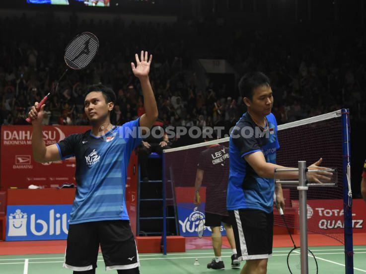 Hasil Indonesia Masters 2020: Sempat Dibantai, Ahsan/Hendra Lolos ke Semifinal