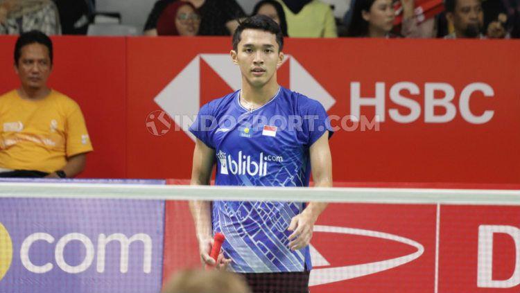 Badminton Asia Team Championships: Tanpa Keringat, Jonatan Christie Sukses Bantai Wakil Filipina Copyright: © Roihan Susilo Utomo/INDOSPORT
