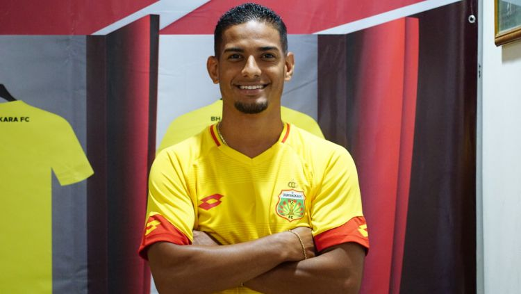 Renan da Silva resmi menjadi pemain Bhayangkara FC untuk Liga 1 2020. Copyright: © Media Bhayangkara FC