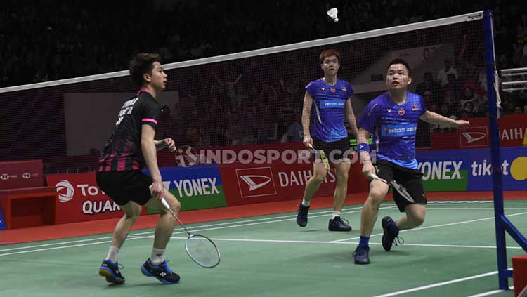 Media Malaysia kembali memberikan sindiran tajam kepada pasangan Aaron Chia/Soh Wooi Yik usai dipecundangi Kevin Sanjaya/Marcus Gideon di Indonesia Masters 2020 Copyright: © Herry Ibrahim/INDOSPORT