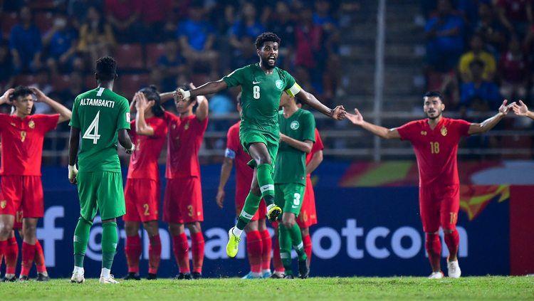 Thailand kalah dari Arab Saudi di perempatfinal Piala Asia U-23 2020, Sabtu (18/01/20). Copyright: © twitter.com/theafcdotcom