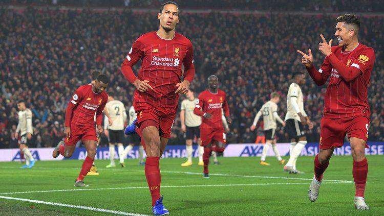 Pertandingan Liverpool vs Manchester United Copyright: © twitter.com/LFC