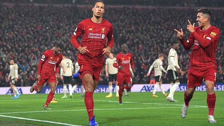 Bek Liverpool, Virgil van Dijk, dianggap sebagai bek komplit dan unggul dari bek legendaris Manchester United, Virgil van Dijk Copyright: © Michael Regan/Getty Images