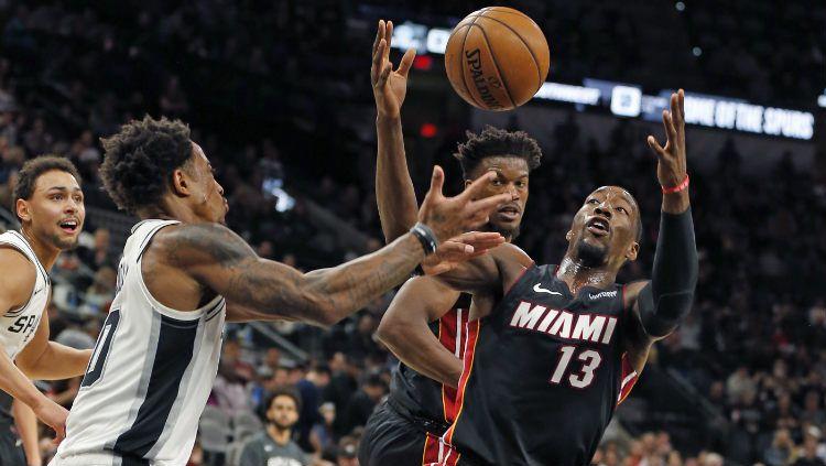 Berikut rekap hasil pertandingan NBA 2019/2020 hari ini, Selasa (03/03/20) pagi WIB. Miami Heat mampu atasi perlawanan Milwaukee Bucks. Copyright: © Ronald Cortes/Getty Images