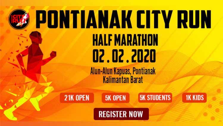 Ajang Pontianak City Run Half Marathon sudah didepan mata. Kompetisi itu akan segera digelar beberapa bulan lagi. Copyright: © spacebib.com