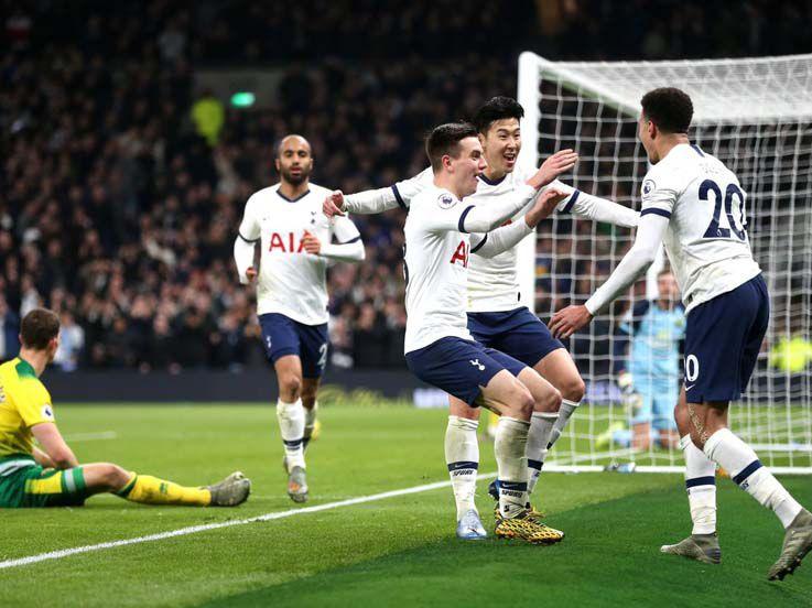 Hasil Liga Inggris Tottenham Hotspur vs Norwich City: Tertolong Son